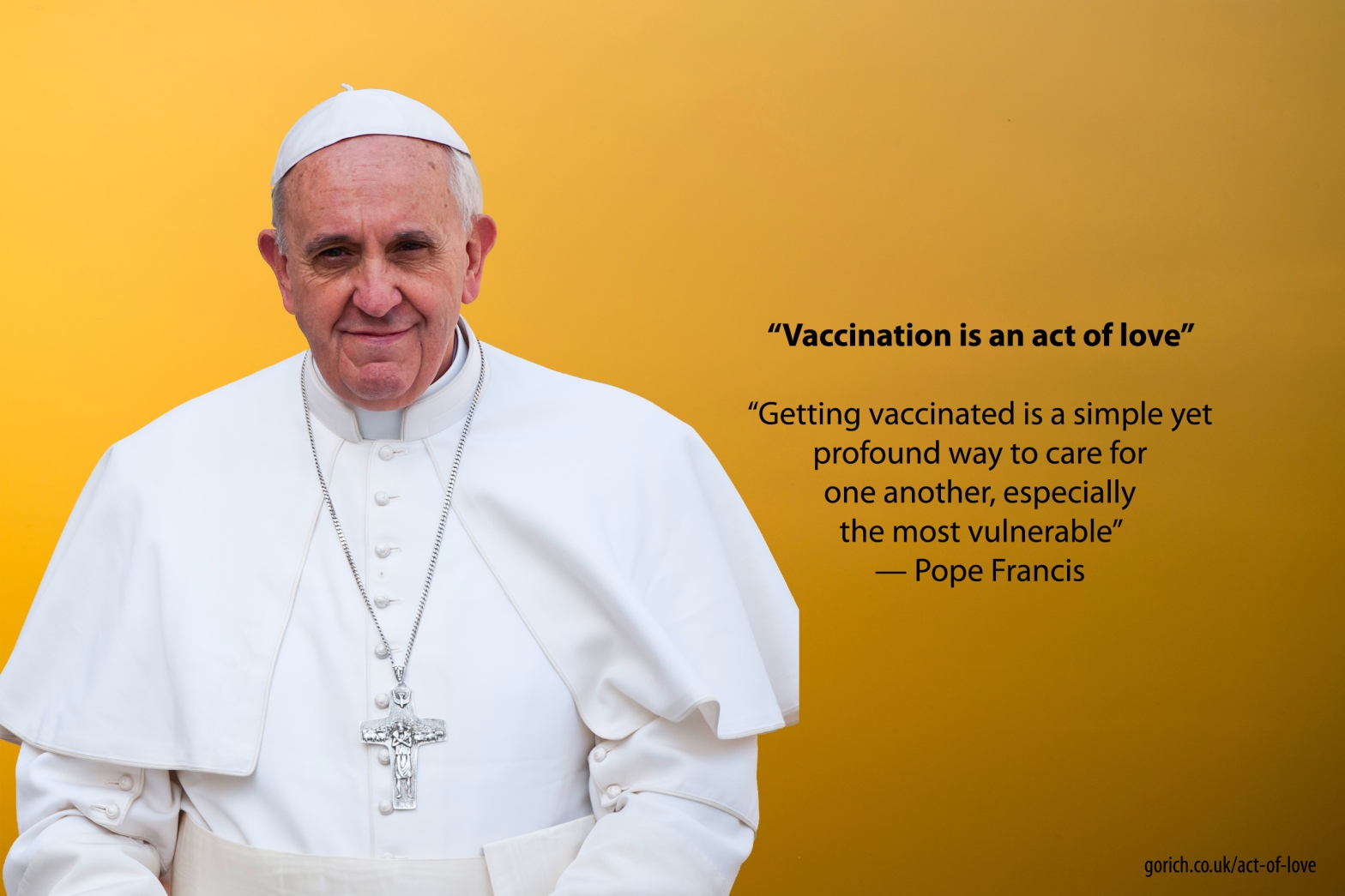 Vaccines are an act of love